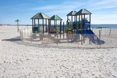 Terrain de jeu de Coney Island images stock