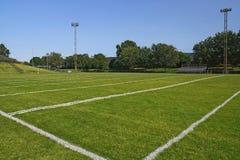 Terrain de jeu du football Image libre de droits