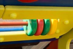 Terrain de jeu du ` s d'enfants Photographie stock libre de droits