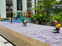Terrain de jeu en Hong Kong Photos libres de droits