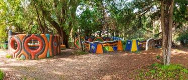 Terrain de jeu en parc Photo libre de droits