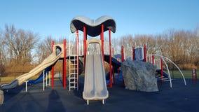 Terrain de jeu de parc Photos libres de droits