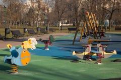Terrain de jeu pour des enfants Photographie stock libre de droits