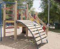Terrain de jeu pour des enfants Image libre de droits