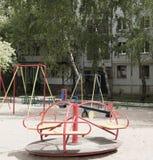 Terrain de jeu pour des enfants Photos stock