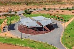Terrain de jeu (vue de ci-dessus) Photo libre de droits