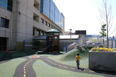 Terrain de jeux patient extérieur d'ACH Photographie stock libre de droits