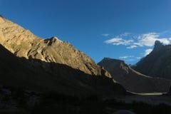Terrain de traînée du trekking K2, chaîne de Karakoram, Pakistan, Asie photos libres de droits