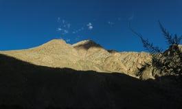 Terrain de traînée du trekking K2, chaîne de Karakoram, Pakistan, Asie images libres de droits