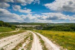 Terrain environnant d'Eski Kermen Photos libres de droits
