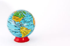 The terrain globe (America) royalty free stock images
