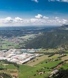 Terrain montagneux de beau paysage images stock
