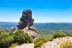 Terrain montagneux de paysage photo stock