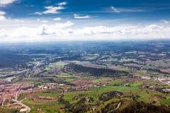 Terrain montagneux de paysage images libres de droits