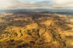 Terrain montagneux du Madagascar image libre de droits