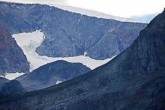 Terrain montagneux en Norvège Stationnement national de Jotunheimen photographie stock