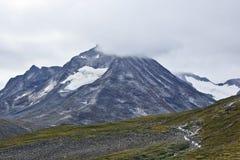 Terrain montagneux en Norvège Stationnement national de Jotunheimen photo libre de droits
