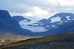 Terrain montagneux en Norvège Stationnement national de Jotunheimen photos libres de droits