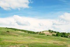 Terrain montagneux et ciel image libre de droits