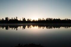 Terrains de camping de lac horse blanc, Williams, AZ Image libre de droits