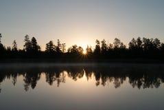 Terrains de camping de lac horse blanc, Williams, AZ Image stock