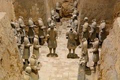 Terrakotta-Armee Xi'an Shaanxi-Provinz China Stockfoto