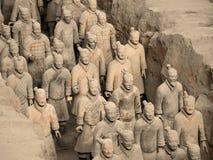 Terrakotta-Armee - Xian - China Stockbilder