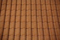 Terrakotta-Dach Stockfoto