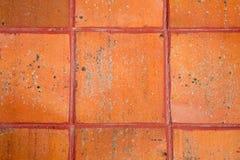 Terrakotta-Fliesen Lizenzfreie Stockfotografie