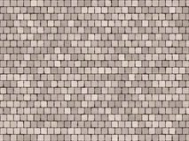 Terrakotta-Fliesen Stockfoto