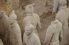 Terrakotta-Krieger von Xian Lizenzfreies Stockfoto
