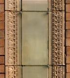 Terrakottaarchitekturdekoration stockfotos