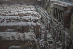 Terrakottaarmé i Xi'an, Kina Royaltyfria Foton