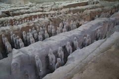 Terrakottaarmén Arkivbilder