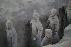 Terrakottaarmén Arkivfoto