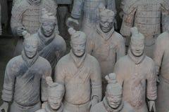 Terrakottaarmén av Xian Royaltyfri Bild