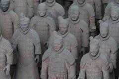 Terrakottaarmén av Xian Royaltyfri Foto