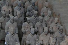 Terrakottaarmén av Xian Royaltyfri Fotografi