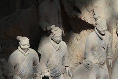 Terrakottaarmén av Xian Arkivfoto