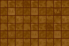 Terrakottabodenfliesen Stockfotografie