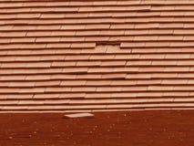 Terrakottadach lizenzfreie stockfotos