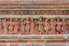 Terrakottagrafiken am kalna, Burdwan, Westbengalen - Indien Lizenzfreie Stockfotografie