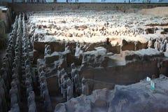 Terrakottakrieger Stockbild