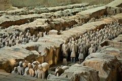terrakottakrigare Arkivfoto