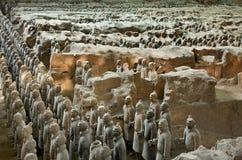 terrakottakrigare Arkivfoton