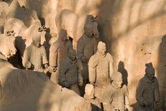 terrakottakrigare Arkivbild