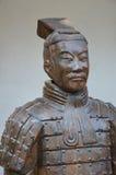 Terrakottakrigare från Xian Arkivfoton