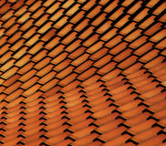 Terrakottategelplattaabstrakt begrepp Arkivbilder
