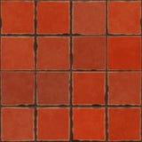 Terrakottategelplattor Arkivbild