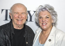 Terrance McNally and Tyne Daly Royalty Free Stock Photos